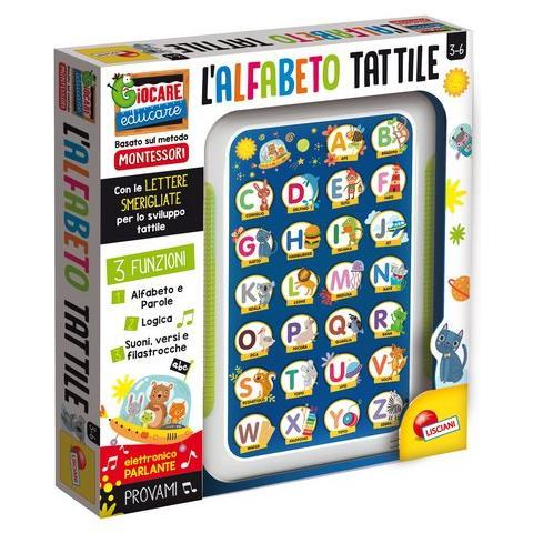 LISCIANI - Alfabeto Tattile