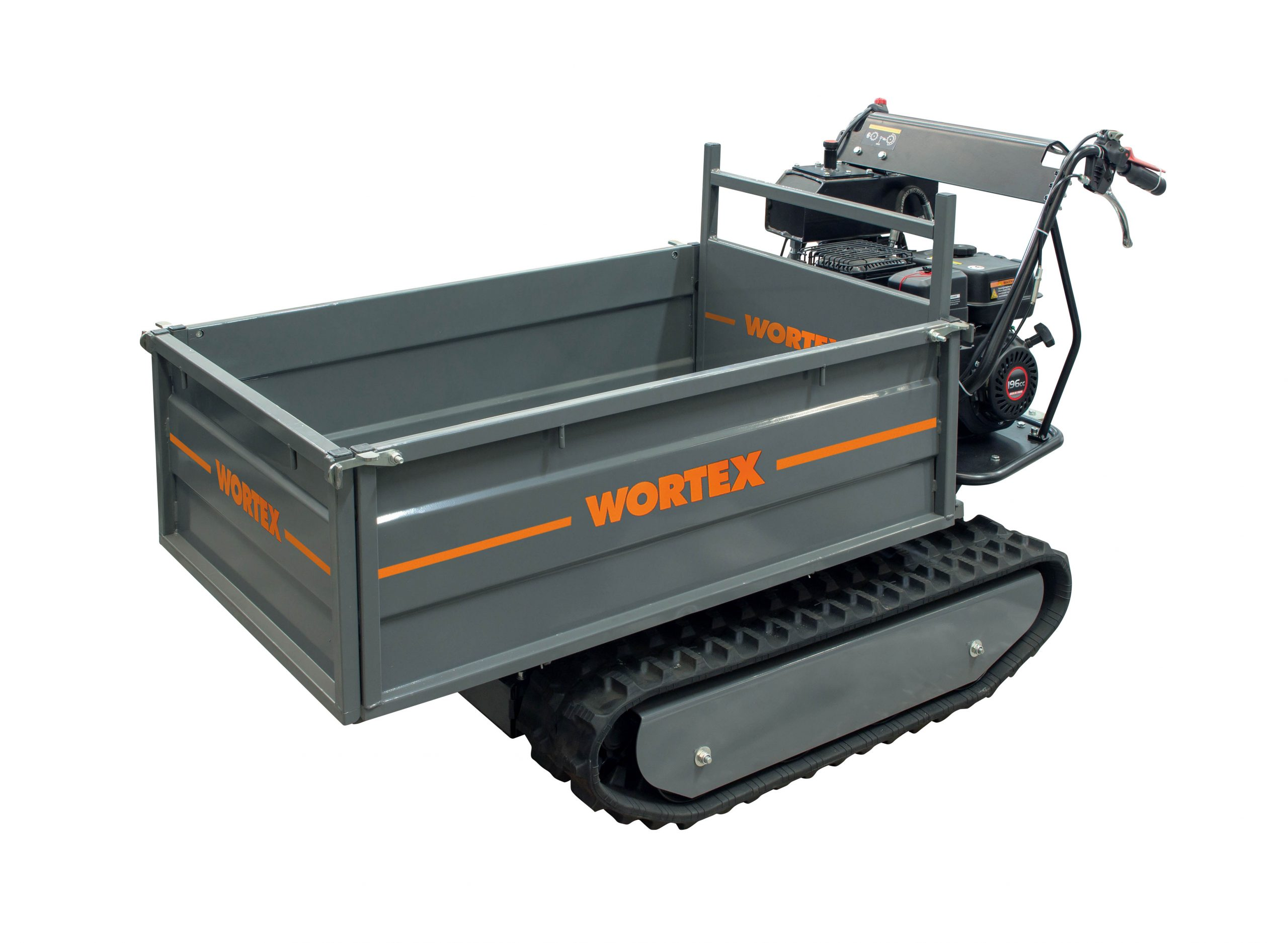 WORTEX SFL 500-E Motocarriola Cingolata a scoppio avviamento elettrico