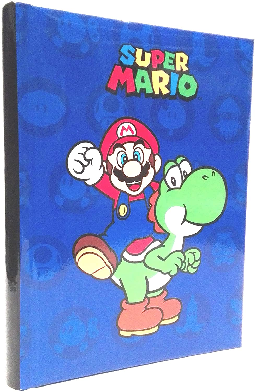 Diario Super Mario colore blu 2021 2022