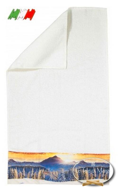 Asciugamani stampa digitale Alba