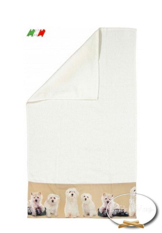 Asciugamani stampa digitale Cuccioli Travel