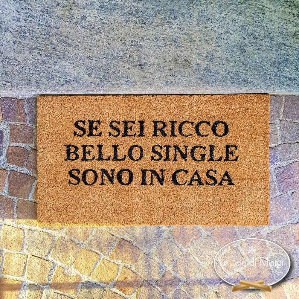 Zerbino Ricco, bello e single
