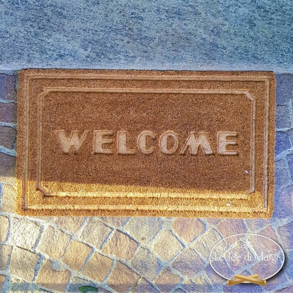 Zerbino Welcome Intagliato
