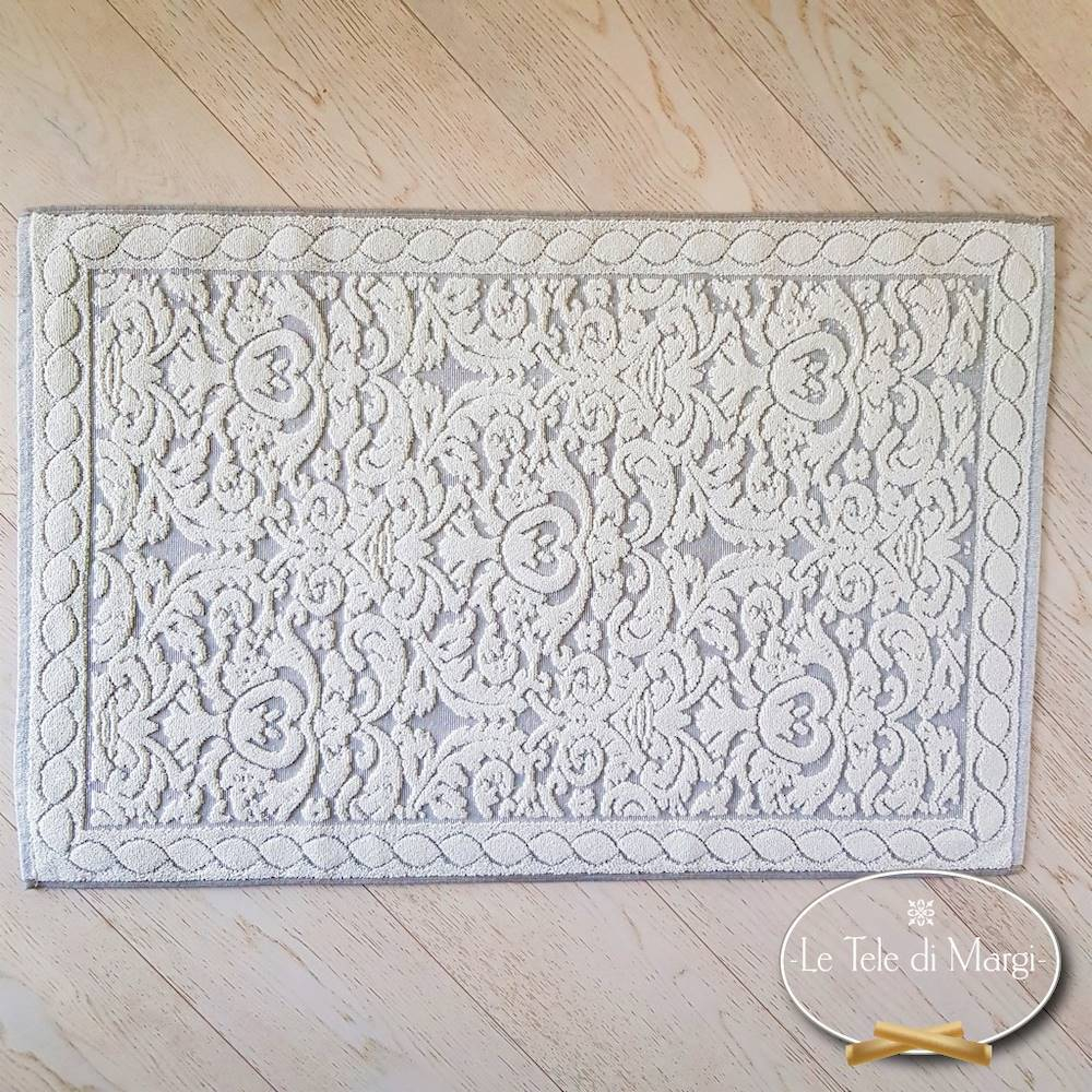 Tappeto arabesque tortora 60 x 90