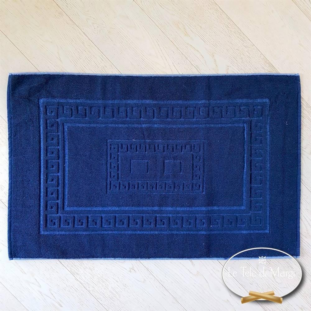 Tappeto Greca blu