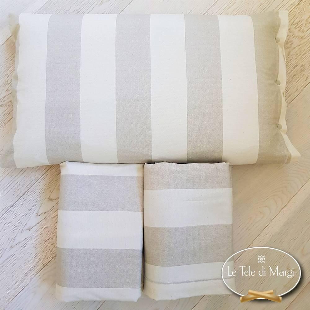 Completo Lenzuola flanella Rigoni beige