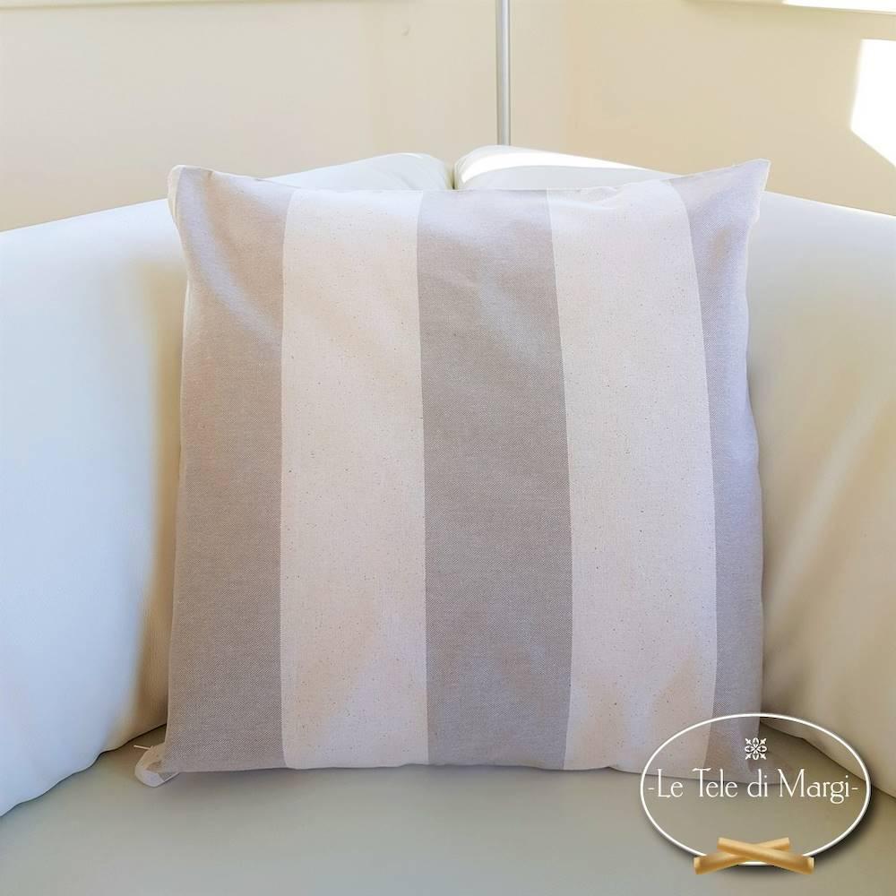 Fodera cuscino 50 x 50 rigoni beige