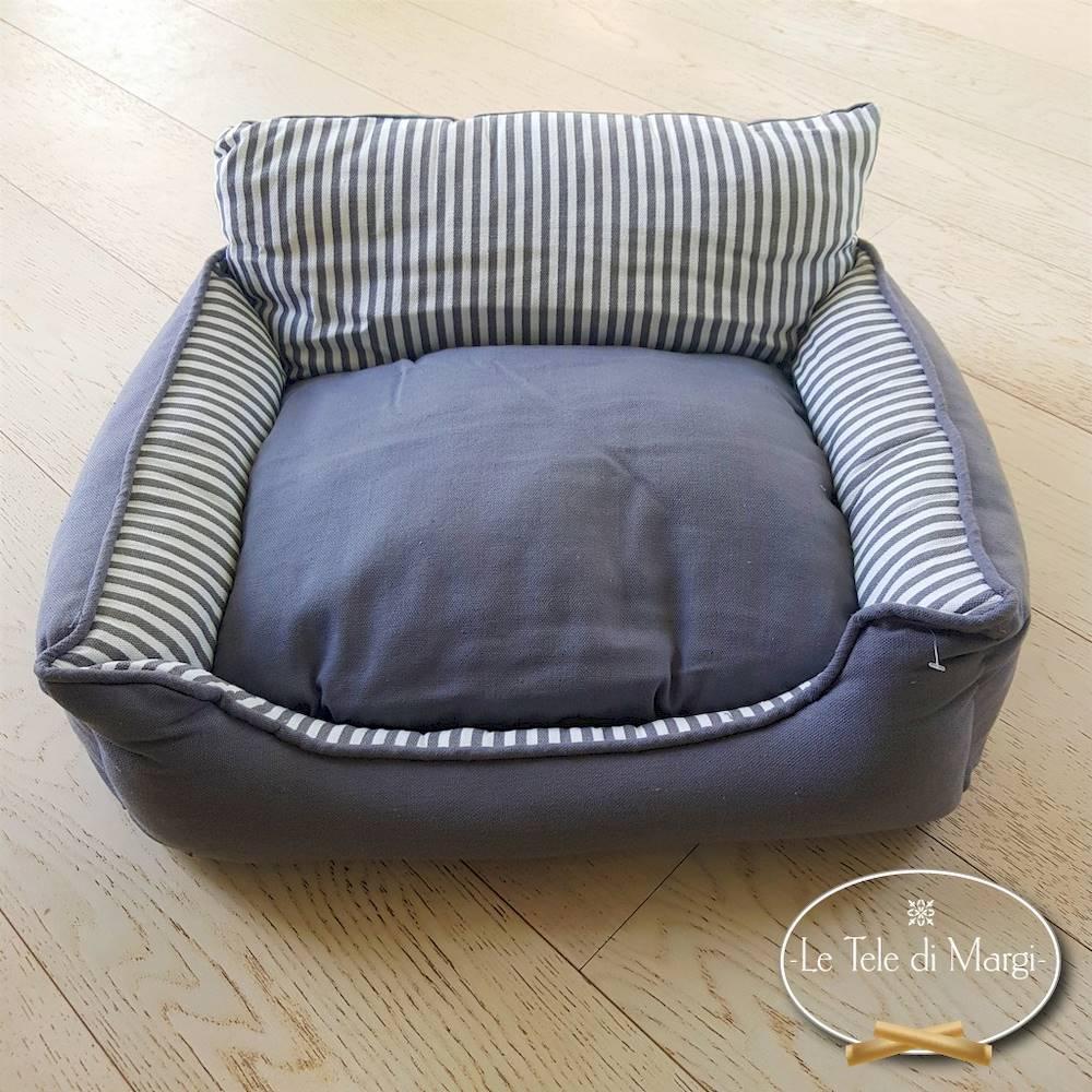 Cuccia divanetto rettangolare millerighe