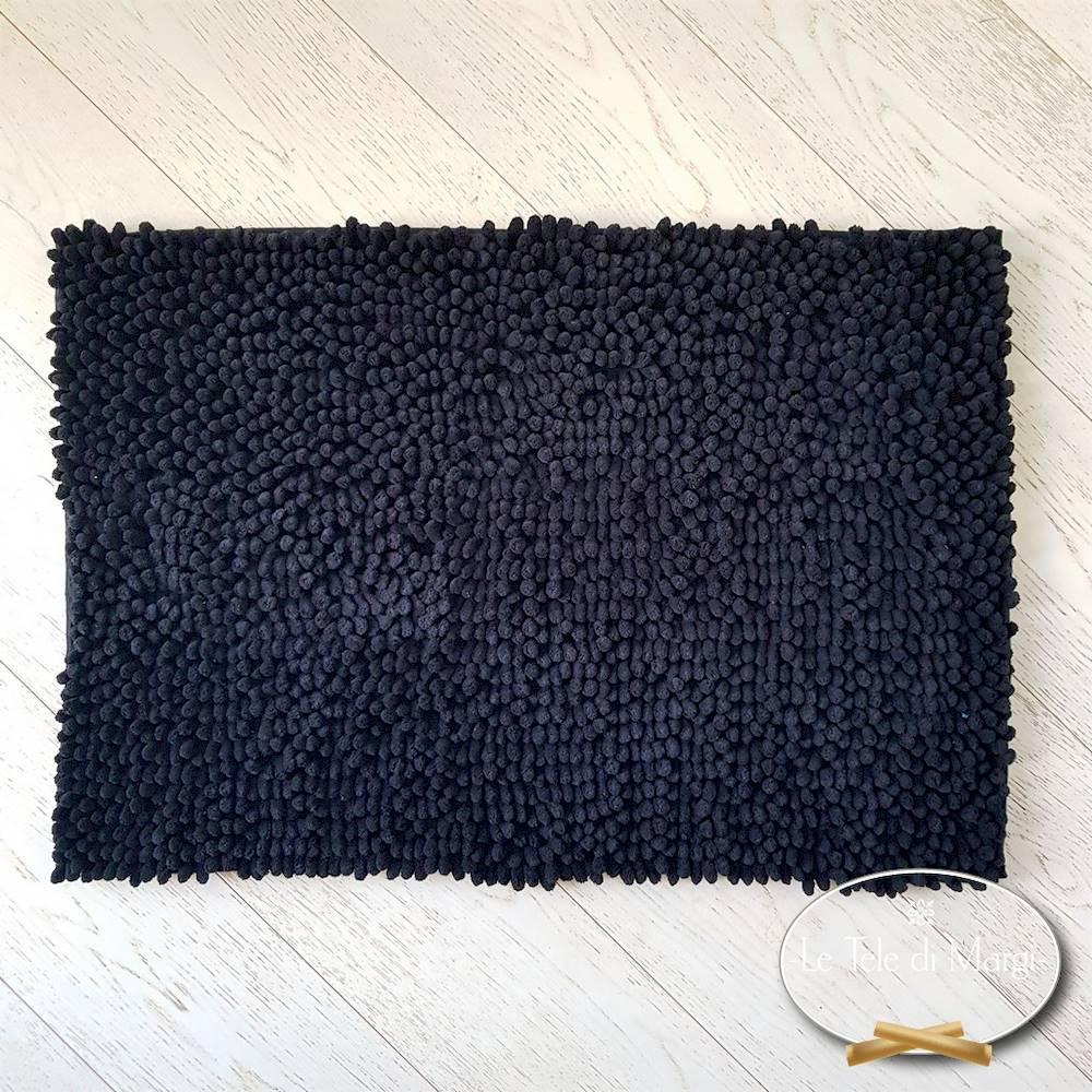 Tappeto antiscivolo passatello nero 50 x 80