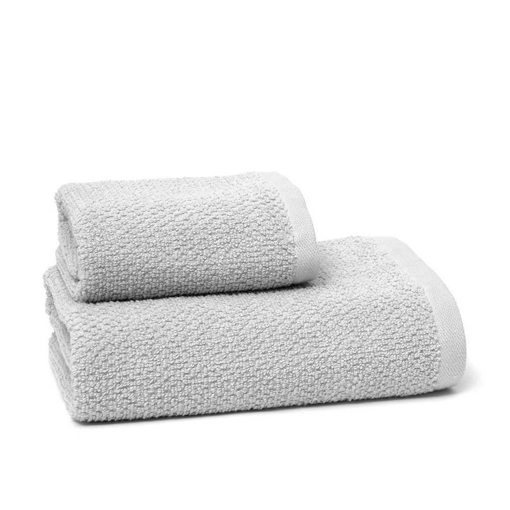 Asciugamano chicco di riso grigio
