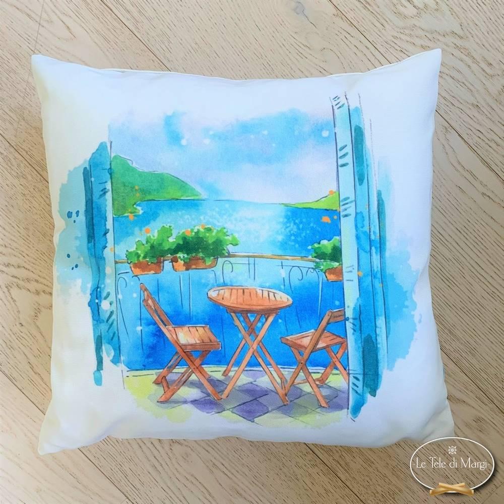 Cuscino Tavolino sul mare