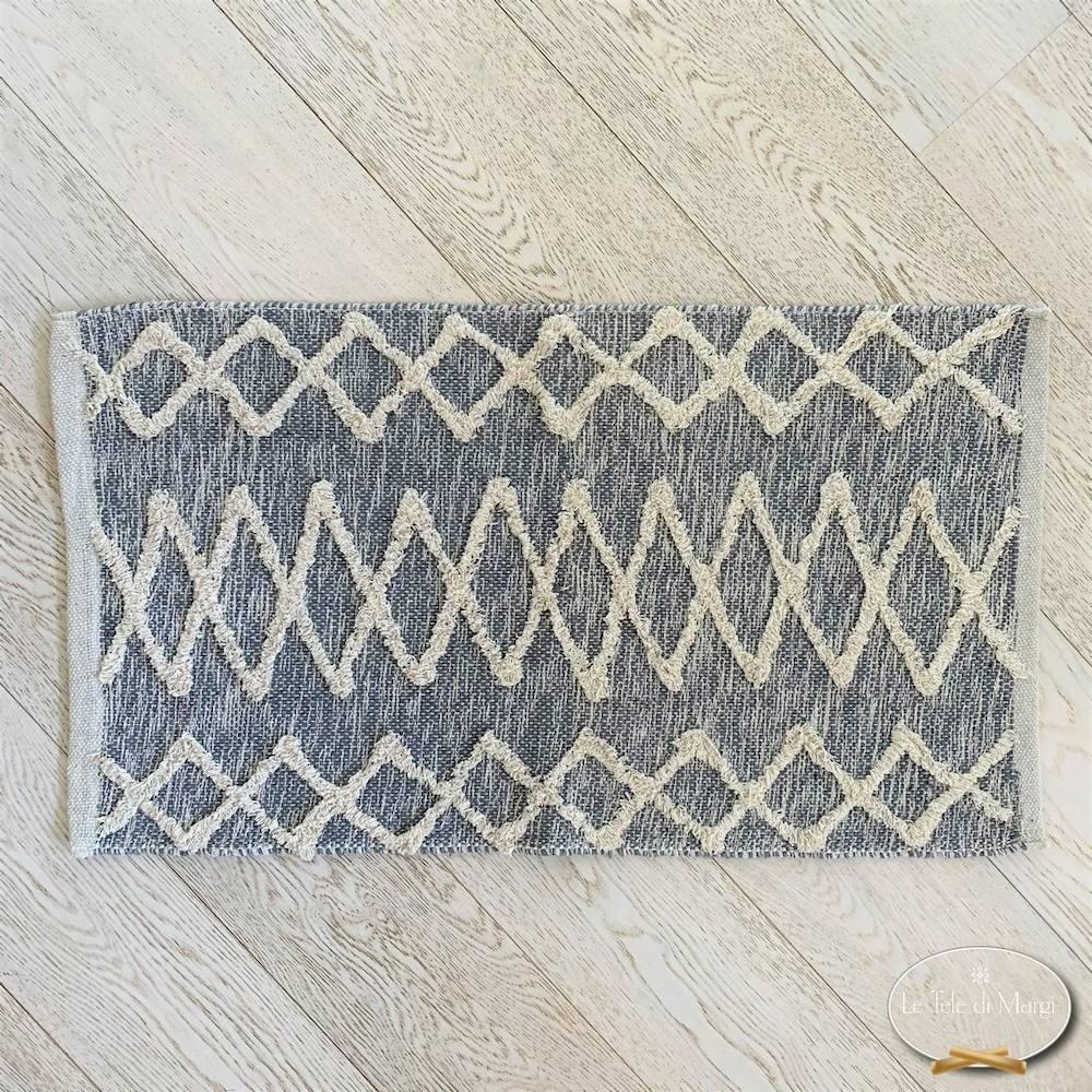 Tappeto Bago grigio 50 x 80