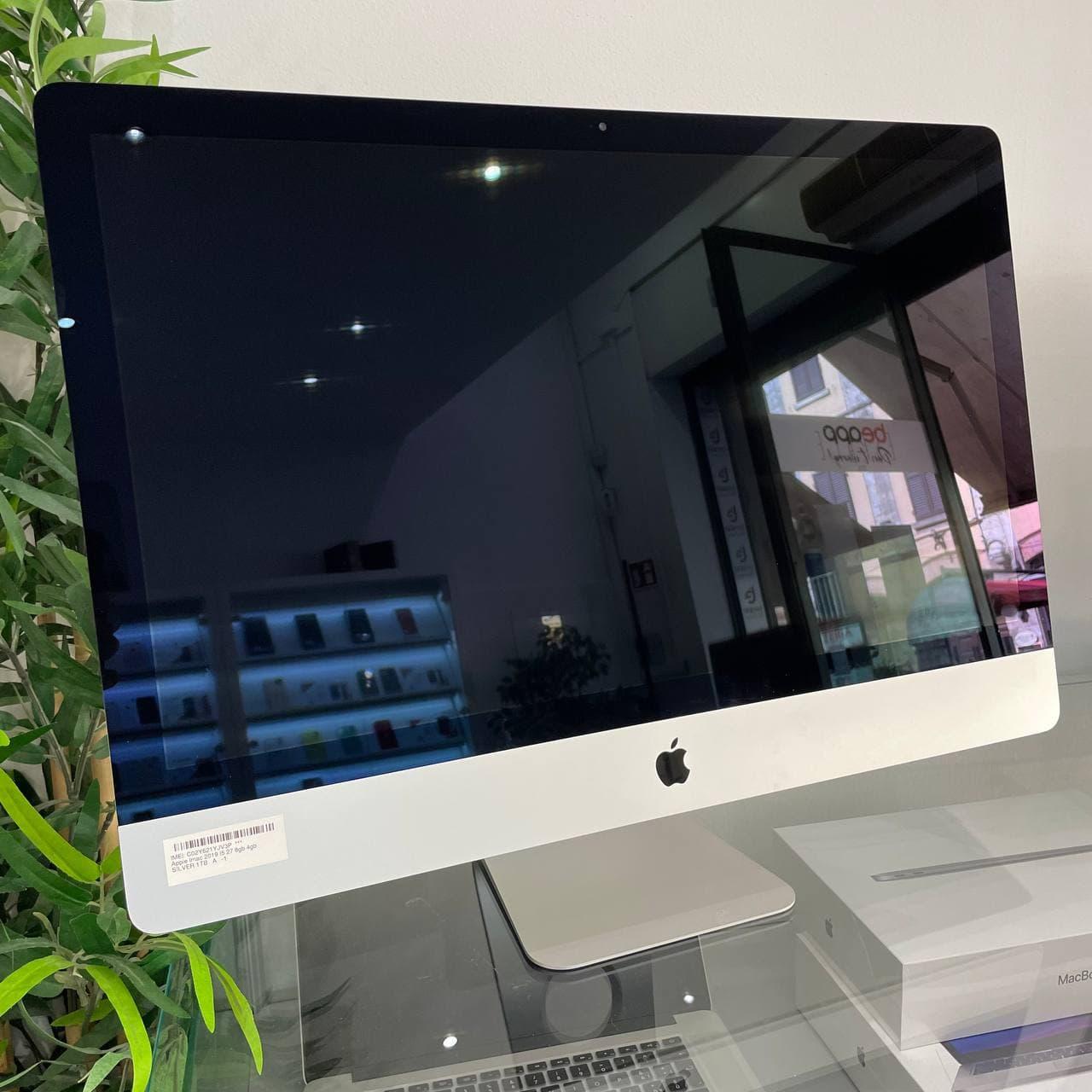 Apple iMac 2019 - intel® i5 27 24gb 4gb - (Ricondizionato)