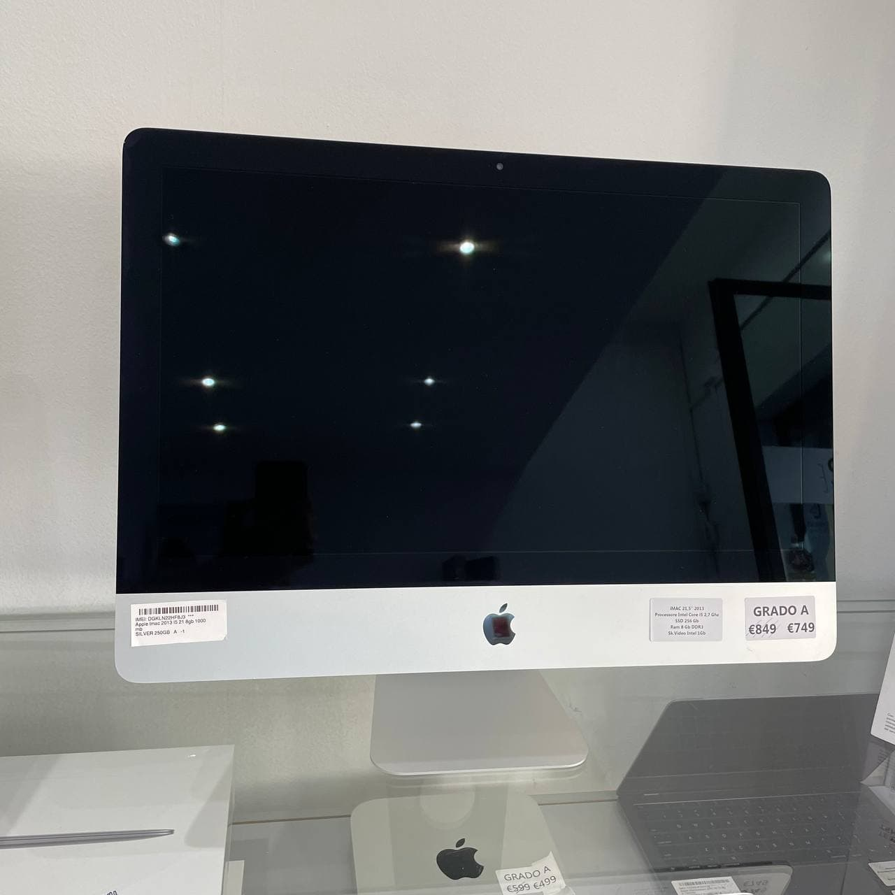 Apple iMac 2013 - intel® i5 21 - RAM 8GB 1000mb - (Ricondizionato)