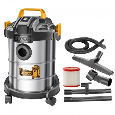 Aspirapolvere Liquidi Inox 12l 800W INGCO