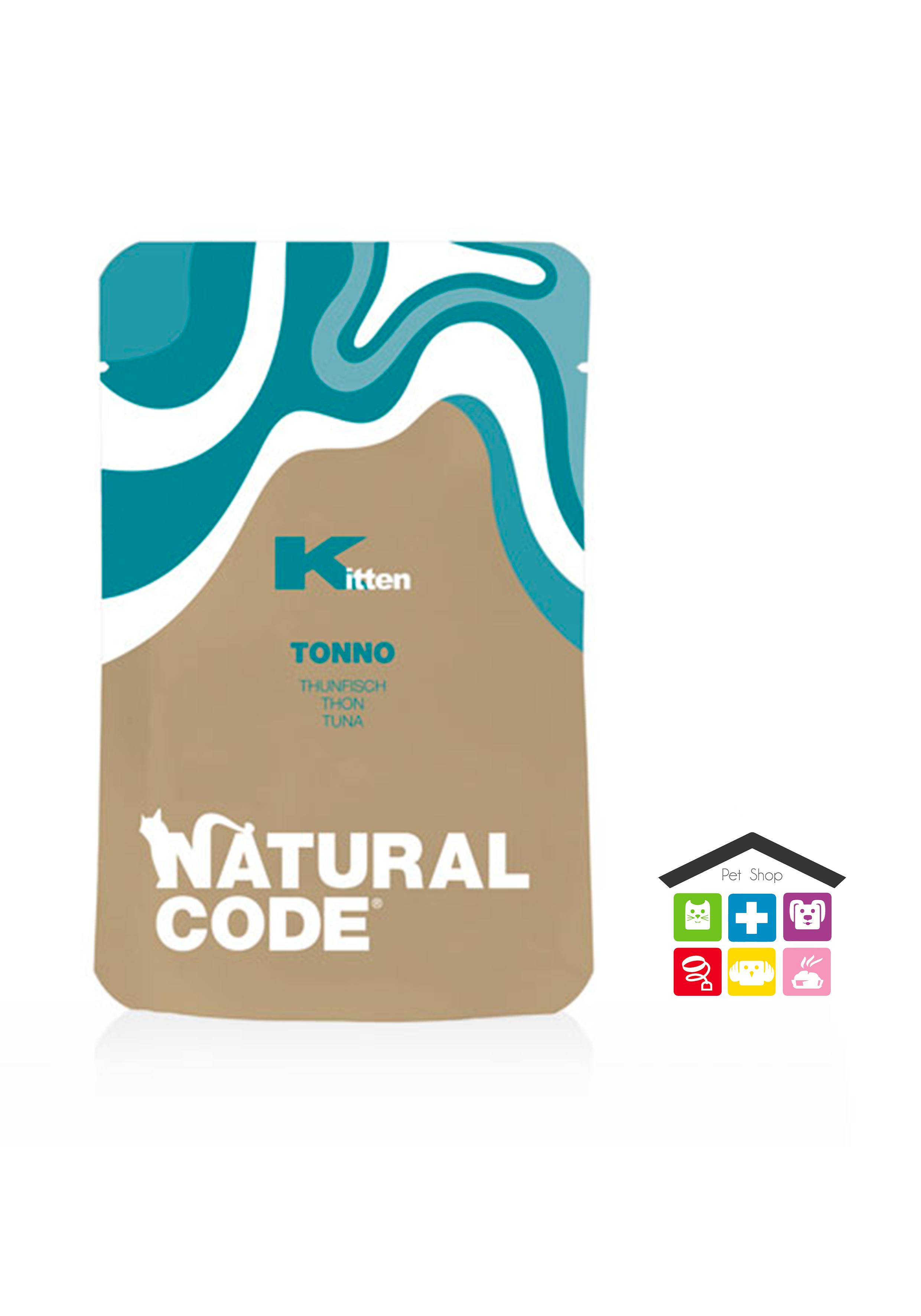 Natural code busta kitten 0,70g tonno