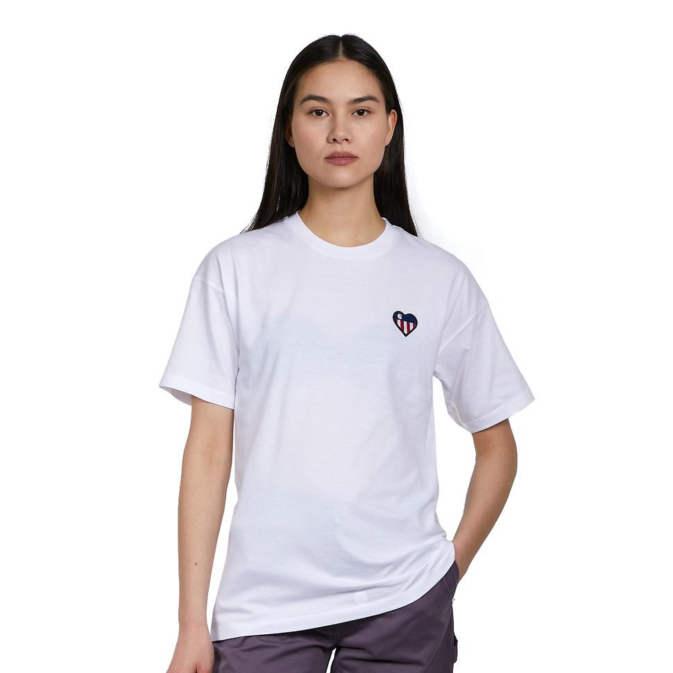 T-Shirt Carhartt W State Flag Heart