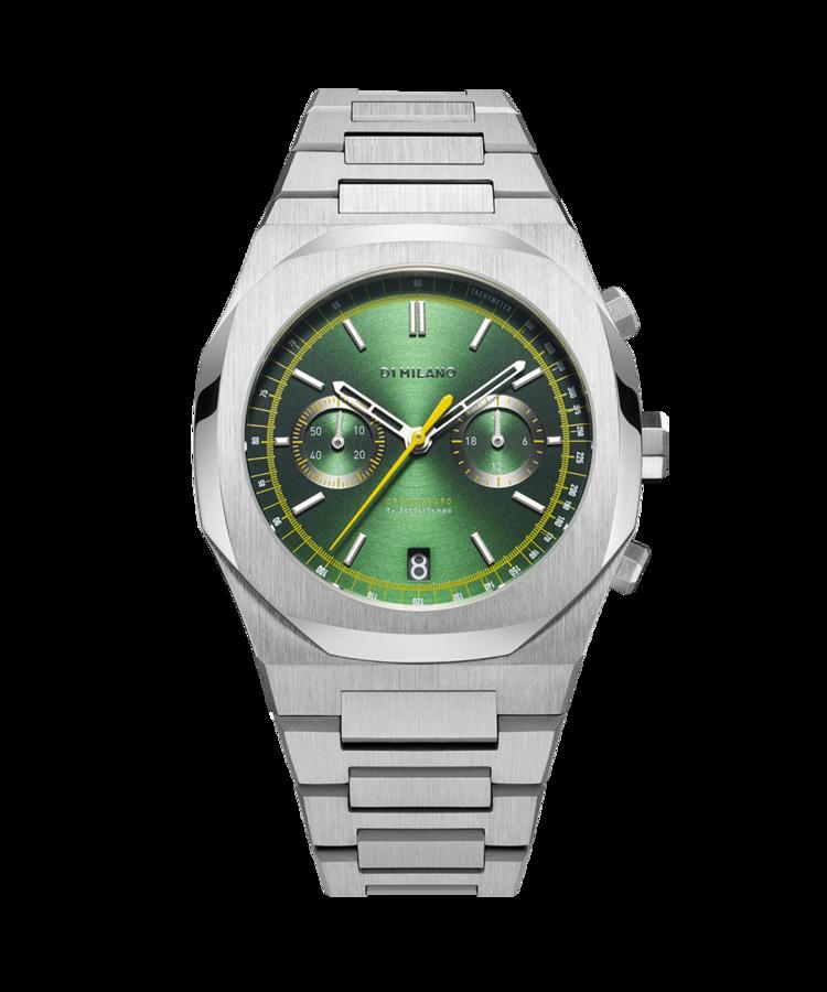 D1 Milano Noble Green Chronograph