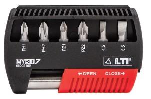 Set inserti per avvitatori ESSENTIAL MYBIT7 Lti 66002105