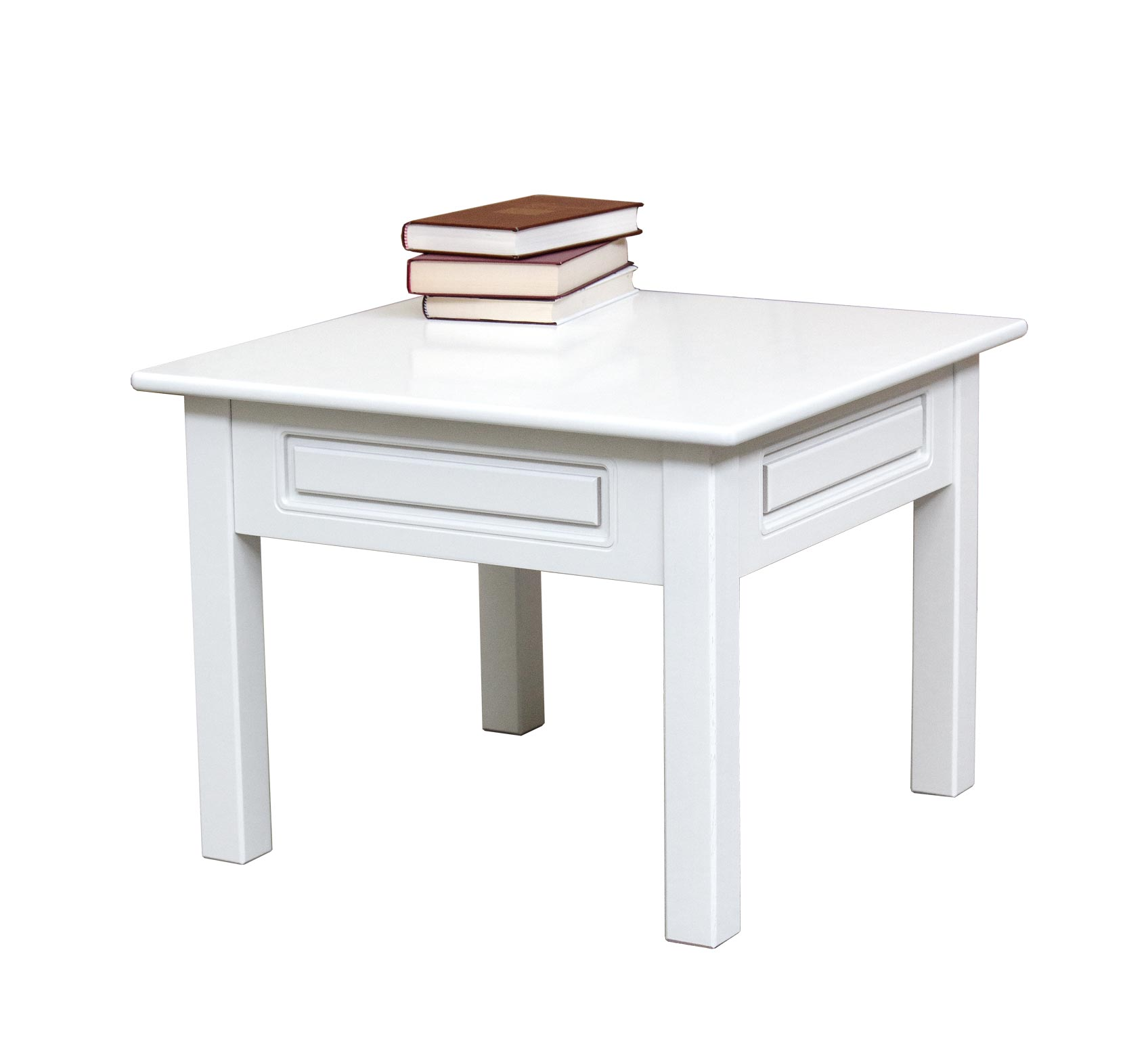 Mesa de centro barnizada en madera