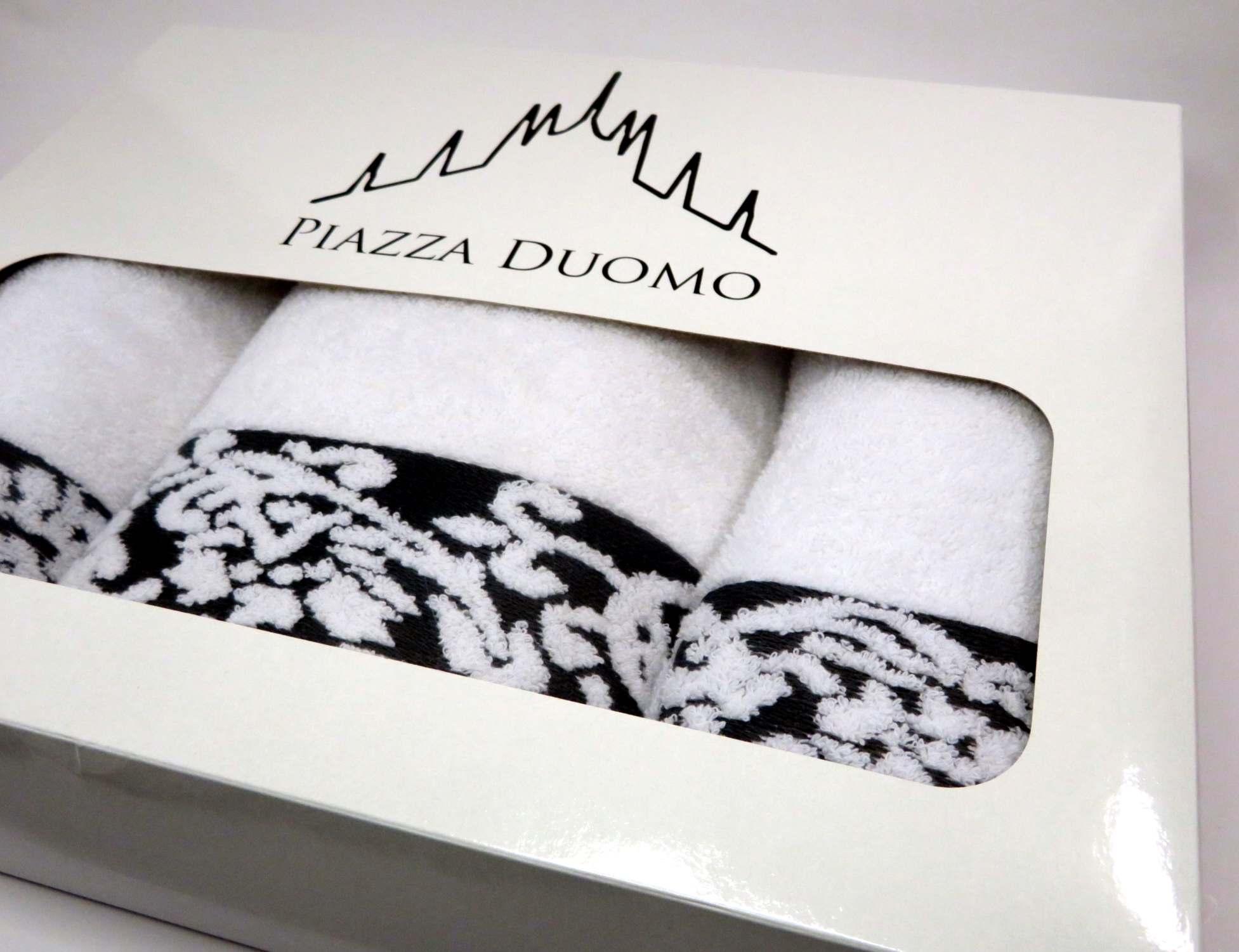 Asciugamani 5 pezzi scatola regalo