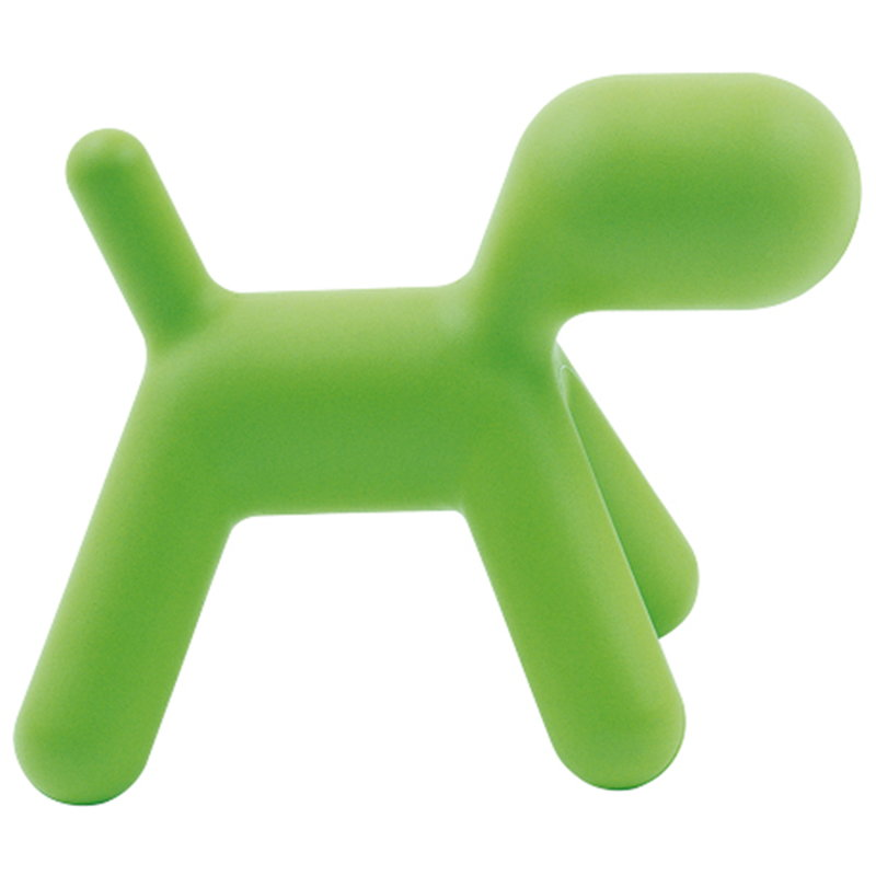 Puppy XL colore verde cane astratto scultura Magis