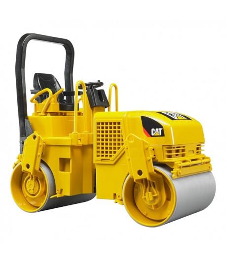 BRUDER - CAT Rullo Compressore 02433