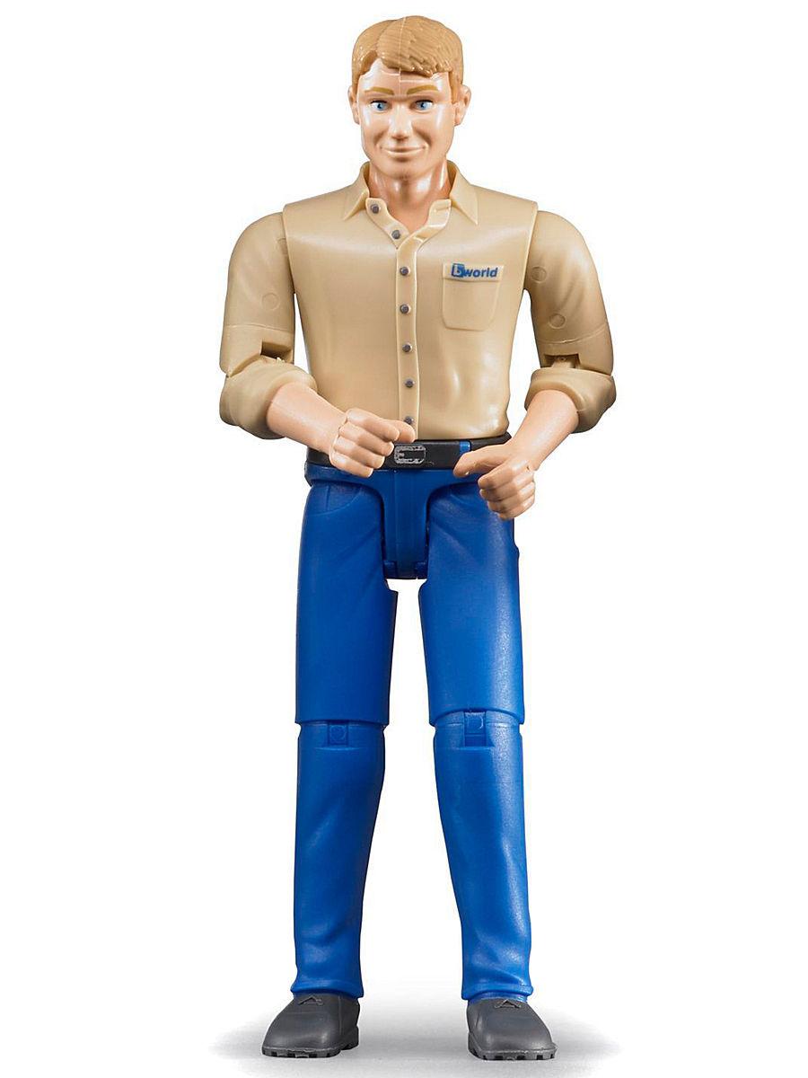 BRUDER - Personaggio con Jeans 60006