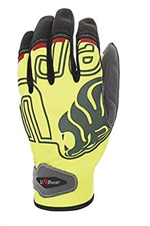 Guanti UPower Modello Biker Yellow Taglia 11