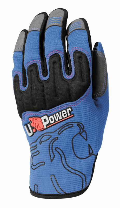 Guanti UPower Modello Boost Blue Taglia 10
