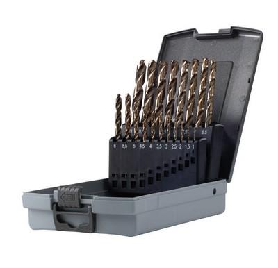 Serie punte per ferro professionali HSS-COBALTO 8% mm 1-10 Krino 01135301