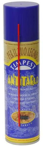 Spray Antitarlo Legno TIMPEST 250ml