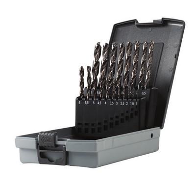 Serie punte per ferro professionali Speedmaster HSS-G mm 1-10 Krino 01229301