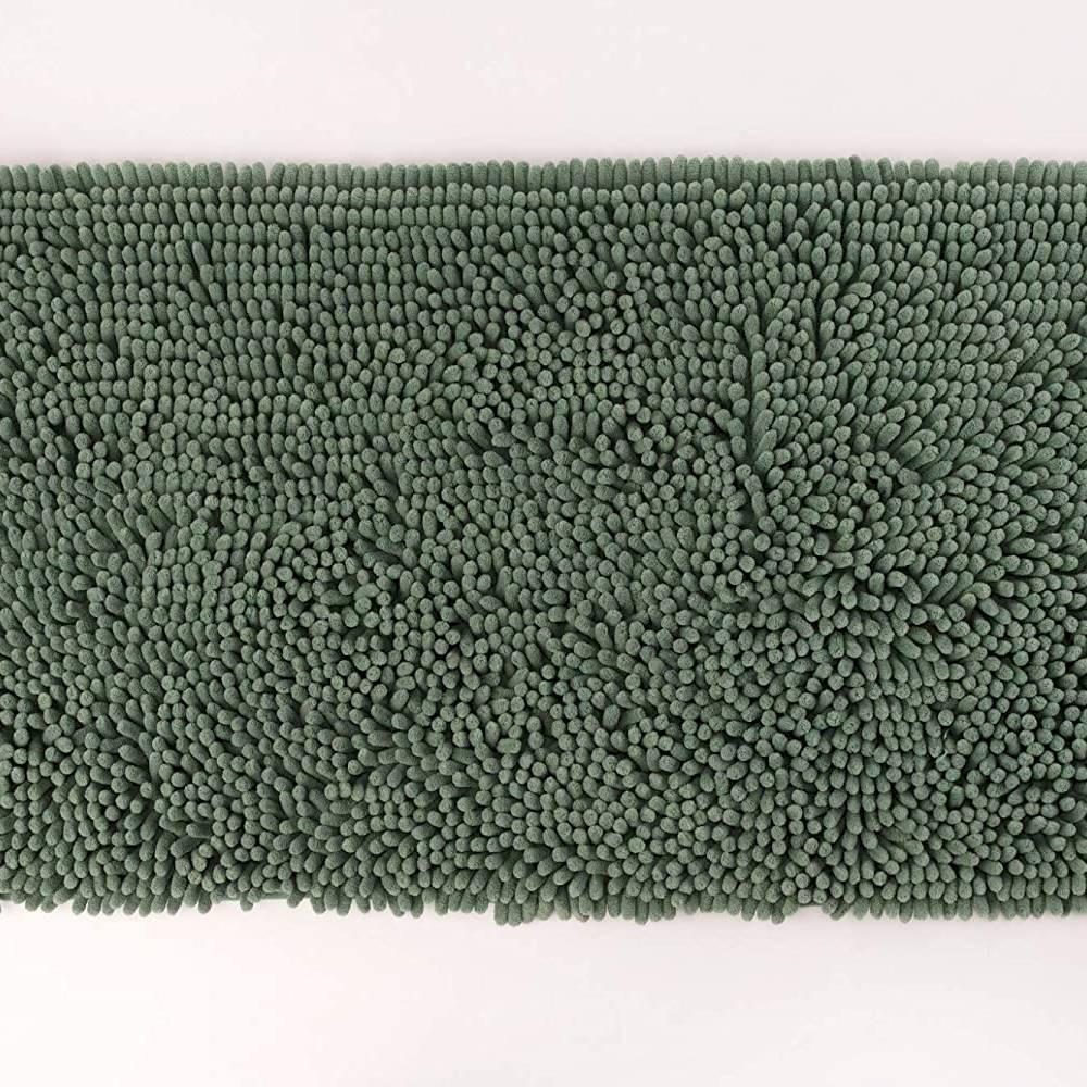 Tappeto antiscivolo passatello verde salvia 60 x 100