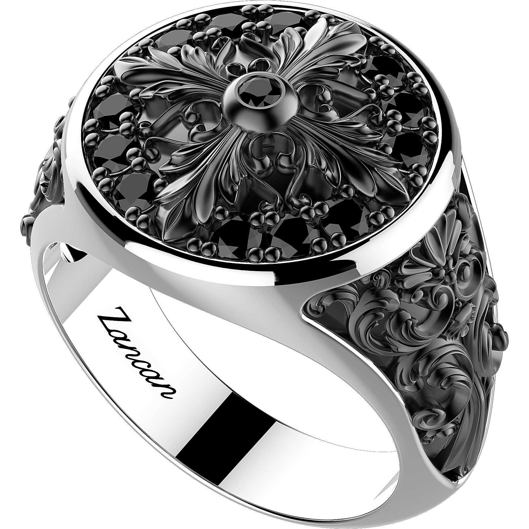 Zancan anello uomo gioielli Zancan Gotik