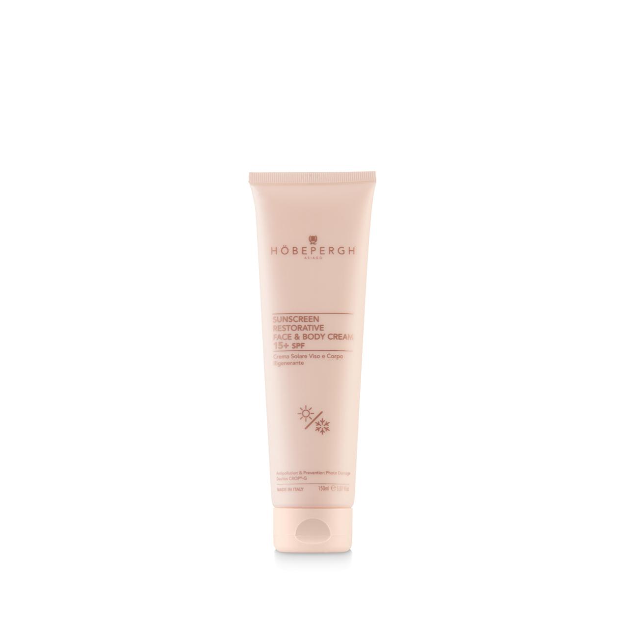 Sunscreen Restorative Face & Body Cream SPF 15+