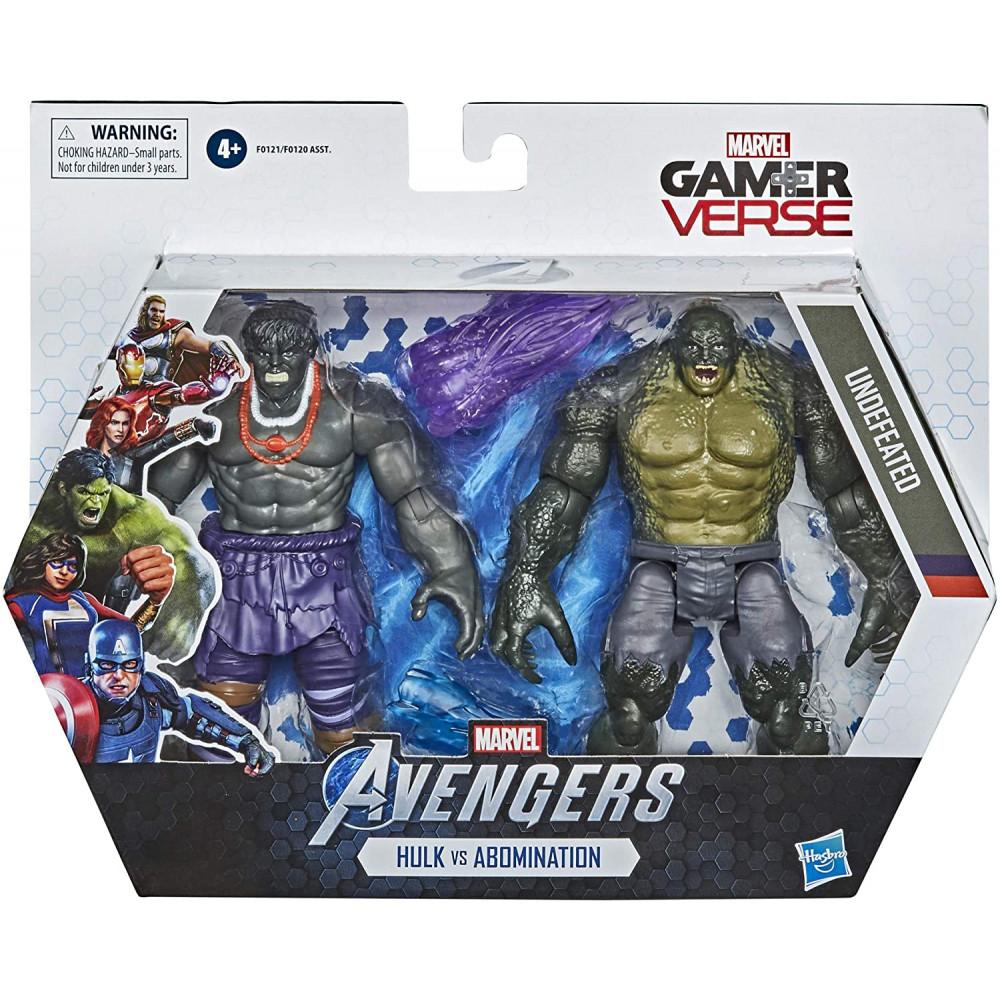 HASBRO - MARVEL AVENGERS Hulk vs Abomination