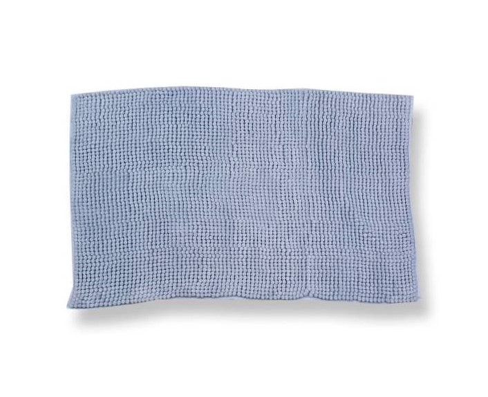 Tappeto antiscivolo Soffy azzurro 50 x 80