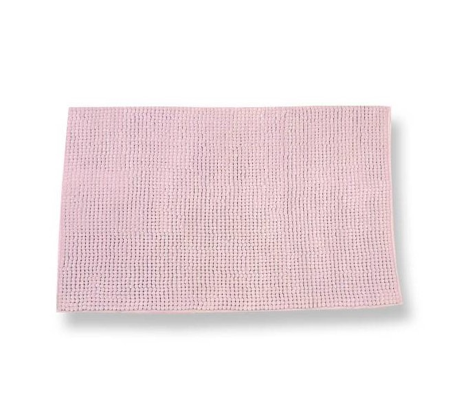 Tappeto antiscivolo Soffy rosa 65 x 130