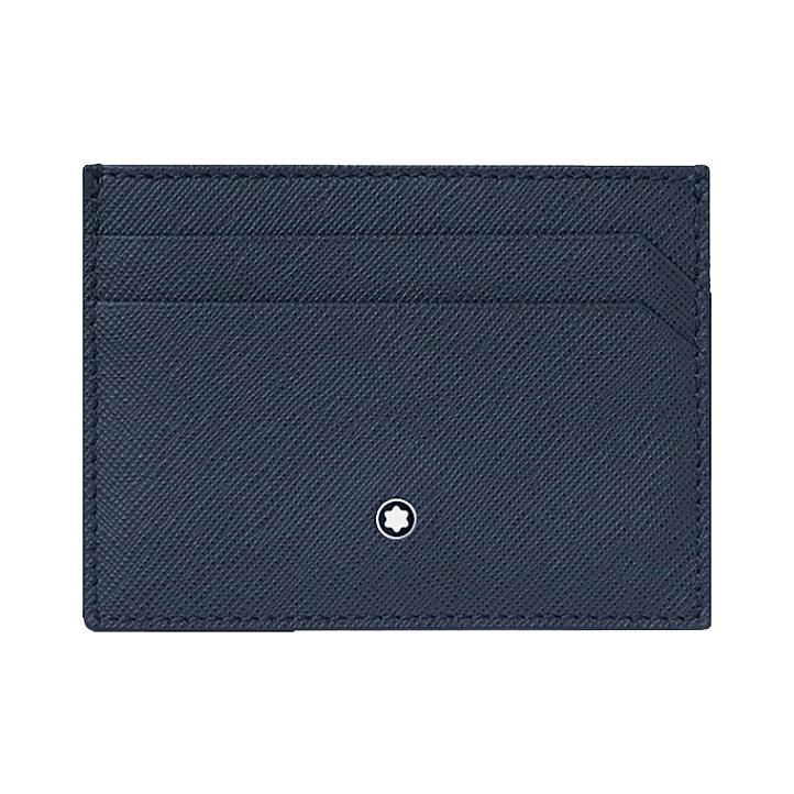 Porta carte di credito tascabile 5 scomparti Montblanc Sartorial
