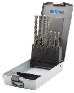 Serie 7 punte per trapani a martello SDS-PLUS Krino 03163403