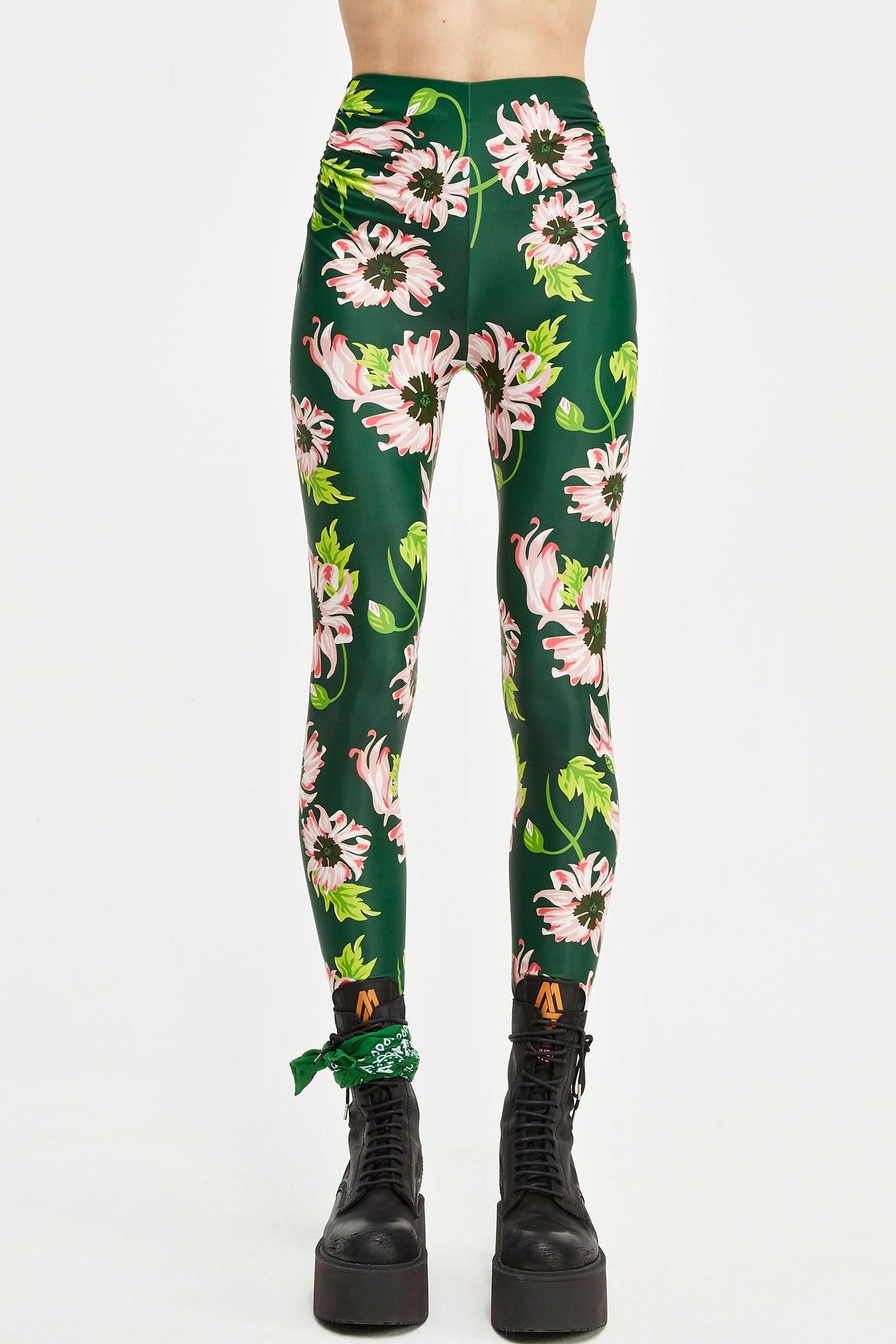 Leggings Jimi bloomy green Aniye By