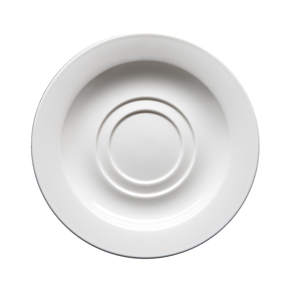 Piattino per tazza colazione con doppia sede cm 16 | Milano