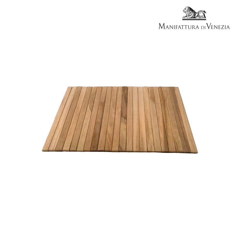 Tovaglietta in legno di teak cm 30   Buffet