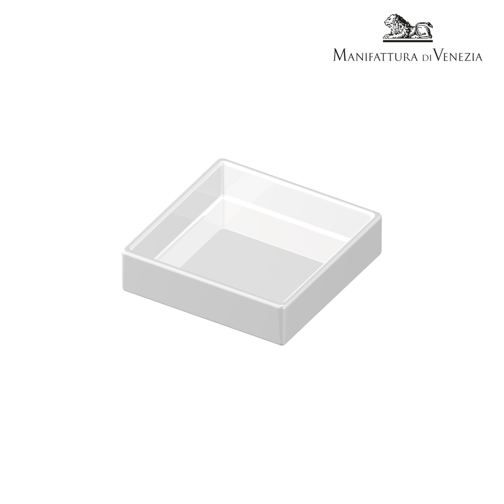 Piattino quadrato bianco cm 7 | Finger Food