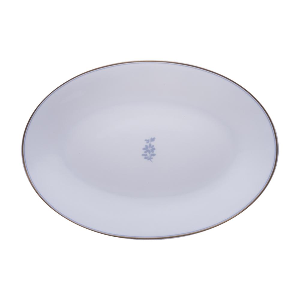 Piatto ovale cm 26 | Feston e Cadena Azzurro