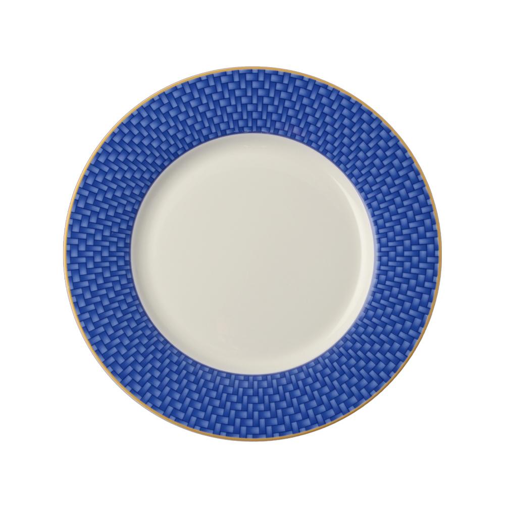 Piattino pane e burro cm 17,5 - blu   Intrecci