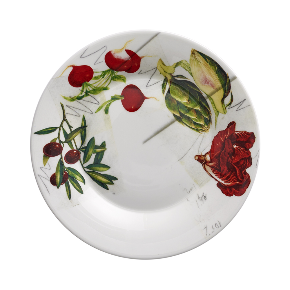 Piatto Dessert cm 22 | Vegan | La Cucina Italiana
