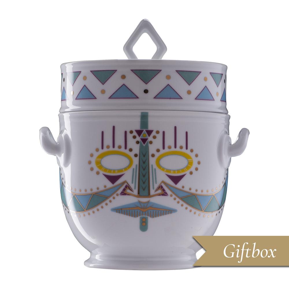 Rinfrescatoio 2 pezzi in Giftbox | Ulundu | Ethnics | Edizione Limitata e Numerata