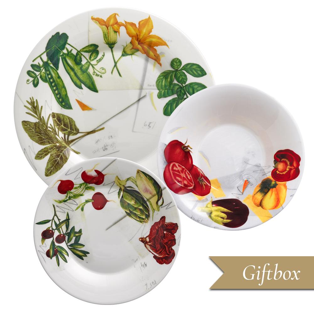 Set 3 pezzi in Giftbox GCV | Vegan | La Cucina Italiana